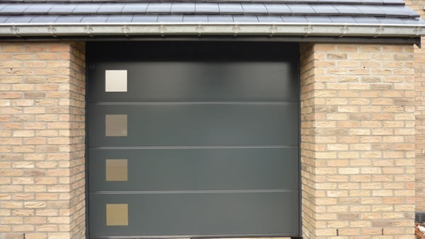 Porte de garage hormann porte de garage hormann 7016 motif inox - Prix porte garage ...